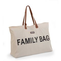 Sac à langer Family Bag - écru/noir