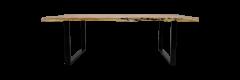 Table de repas SoHo - 280x100 cm - acacia / fer