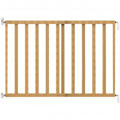Barrière de sécurité en bois - naturel