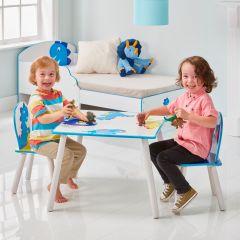 Table et chaises d'enfant Happy Dino