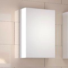 Meuble suspendu Brama/Kornel/Pisca 40cm 1 porte - blanc