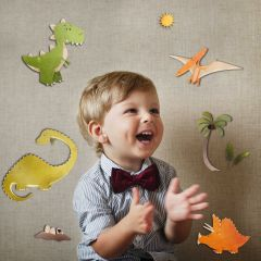 Stickers muraux 3D Dinosaure