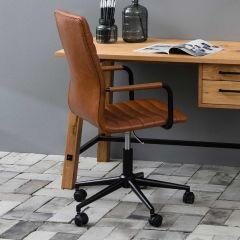 Chaise de bureau Windsor - brun