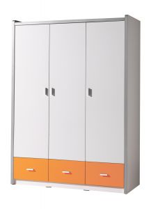 Armoire Bonny 3 portes - orange