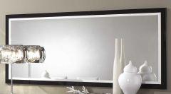 Miroir Roma 140 cm - noir/blanc