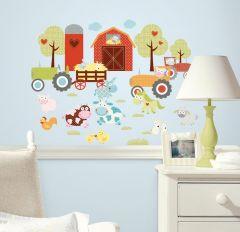 RoomMates stickers muraux - Animaux de la ferme