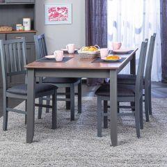 Table à manger Cerci 160cm - gris foncé