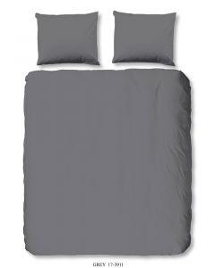Housse de couette Uni Grey 200x220cm