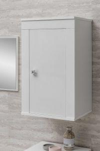 Armoire de salle de bains suspendue Rutger - blanc