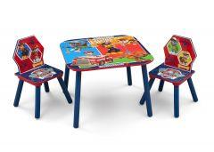 Table et chaises La Pat' Patrouille