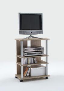 Meuble tv Variant 65cm haut - chêne brun