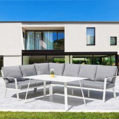 Salon de jardin Sancho - blanc