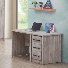 Bureau Sela 120cm - chêne gris