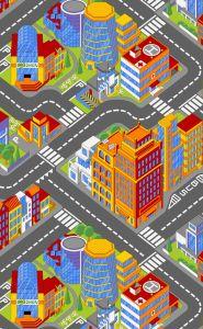 Tapis Big city - petit