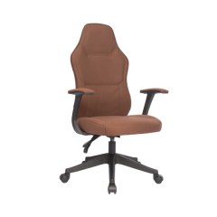 Chaise de bureau Chloë - brun