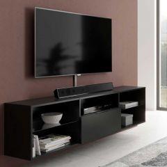 Meuble TV Damien 140cm - noir