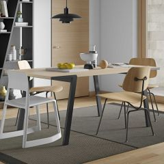 Table à manger Drift 180x90 - chêne