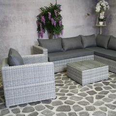 Salon de jardin Ans - gris