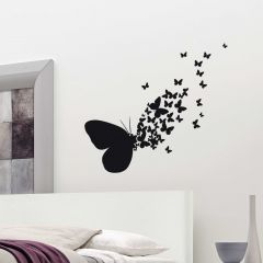 Stickers muraux Butterflies Silhouettes