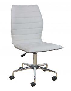Chaise de bureau Tendance - blanc