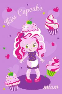 Tapis Girls - Miss Cupcake