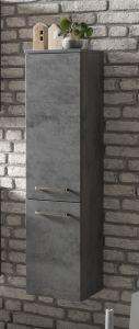 Colonne Stivan 30cm 2 portes - béton