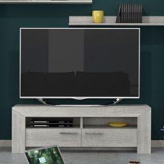 Meuble TV Lani 150cm - chêne gris
