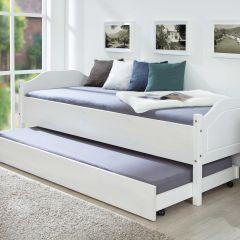 Tiroir de lit 190cm pour lits Interlink - blanc