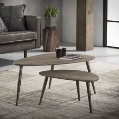 Lot de 2 tables basses Marit Small