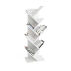 Bibliothèque Basil verticale - blanc