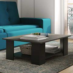 Table basse Square 67x67 - noir/béton