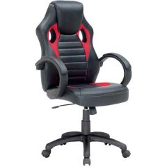 Chaise gamer Pino - rouge
