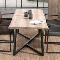 Table Britta 180cm - chêne vieilli