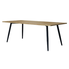Table à manger Pyrus 200cm - brun/noir