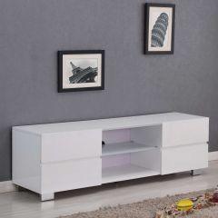 Meuble TV Sevillla 150cm - blanc