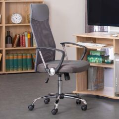 Chaise de bureau Torino - gris