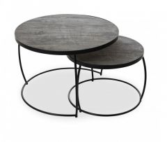 Tables gigognes Lars - gris