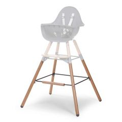 Pieds longs et repose-pieds pour chaise haute Evolu 2 - naturel/anthracite