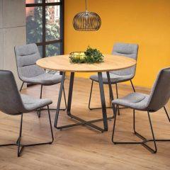 Lot de 4 chaises de salle à manger Nole - gris
