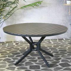 Table de jardin Jersey ø140cm - anthracite