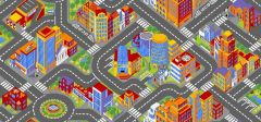 Tapis Big City 95 x 200cm