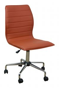 Chaise de bureau Tendance - caramel