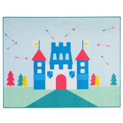 Tapis enfant Little Prince Castle