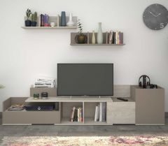 Meuble tv Boost 180cm - gris