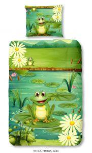 Housse de couette Frogs Multi 140x220