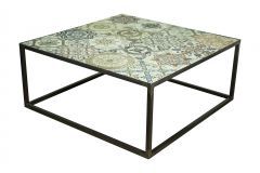 Table basse Ibiza 80x80cm