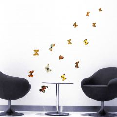 Stickers muraux Colorful Butterflies