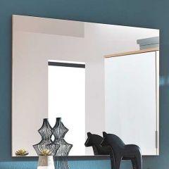 Miroir Tille 89 cm - chêne