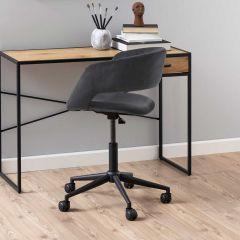 Chaise de bureau Dusty - gris foncé
