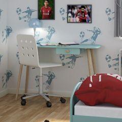 Bureau Gustaf 1 tiroir - menthe